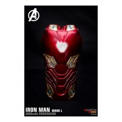 Marvel - Ironman Mark50 外型外置充電器 (5000mAh) CR-Hood004
