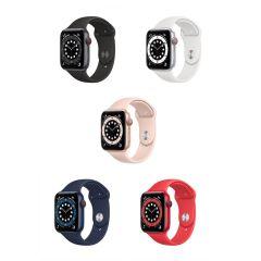Apple Watch Series 6 (GPS + 流動網絡) 44亳米鋁金屬錶殼配運動錶 (2020)