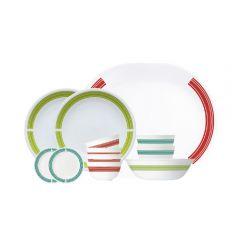 Corelle Brands 餐具套裝 (12件) (經典旅途) CR-TSELCB-ML12-WH