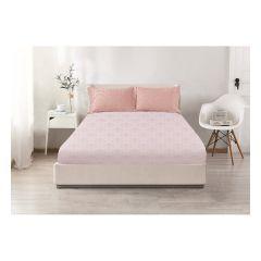 CASA-V - Pearl Silk Series Fitted Sheet & Pillow Case #VB046 CR-VB046