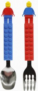 Oxford Creation-積木公仔兒童餐具叉匙套裝 CT15SS0013