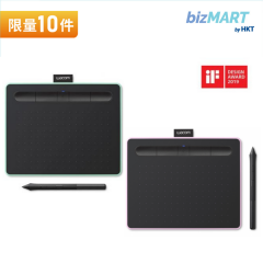 Wacom Intuos S 小型藍芽繪圖板 ( CTL-4100-WL)