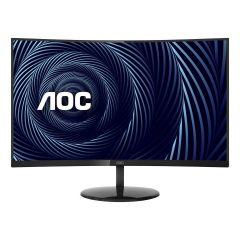 """AOC -  31.5"""" VA Curved 4K Monitor CU32V3 CU32V3"""