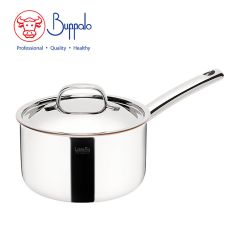 BUFFALO - LaVetta  5-Ply Copper Clad 18CM Saucepan with stainless steel lid (CU50118P) CU50118P