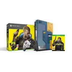 Xbox One X Cyberpunk 2077 限量版同捆裝 (1TB)