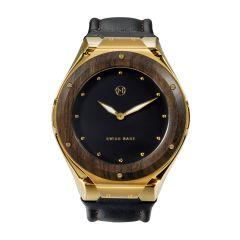 NOVE Craftsman Swiss Made Quartz Watch Gold for Men D003-01 D003-01