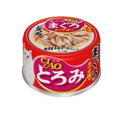 CIAO -  THICK SOUP CHICKEN & MAGURO WITH DRIED TUNA FILLET (6 CANS / 24 CANS) D4901133061769