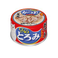 CIAO -  THICK SOUP CHICKEN & SKIPJACK TUNA WITH WHITE (6 CANS / 24 CANS) D4901133061790
