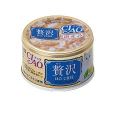 CIAO -  DELUXE SCALLOP & MAGUROŸCHICKEN (6 CANS / 24 CANS) D4901133062490