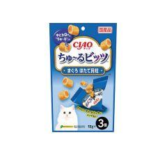 CHURU BITS - TUNA WITH SCALLOP (1 PACK / 3 PACKS) D4901133719165