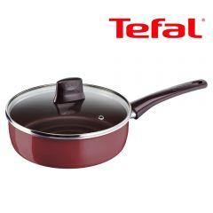 Tefal - 26厘米易潔深煎鍋連蓋 D50233 [法國製造] D50233