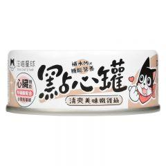 汪喵星球 - 無膠點心罐 嫩雞絲 犬貓副食罐 80g x 3罐