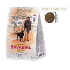 SAVARRA - 英國 火雞 + 糙米成犬糧 - 3kg