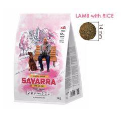 SAVARRA - 英國 羊 + 糙米成犬糧 - 3kg
