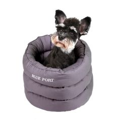 Blue Port - 蠶寶寶造型狗狗棉窩 - 灰色 DDBP1625GM350