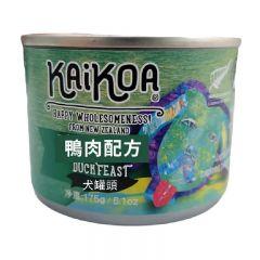 KAIKOA - 紐西蘭鴨肉成犬罐頭 (無殻物配方) - 175g [簡體字版]【賞味期限:14/01/2024】