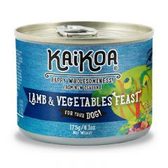KAIKOA - 紐西蘭羊肉&蔬菜成犬罐頭 (無殻物配方) - 175g【食用限期:11/09/2021】
