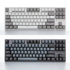 Durgod - Taurus K320 87鍵機械鍵盤 (灰白色 / 深灰色) (Cherry MX 紅軸 / 青軸 / 茶軸)