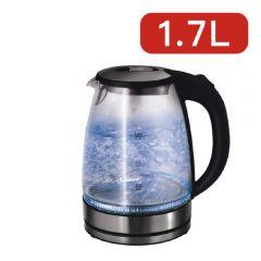 Denki - 1.7L 快速玻璃電熱水壺 DKE-173G
