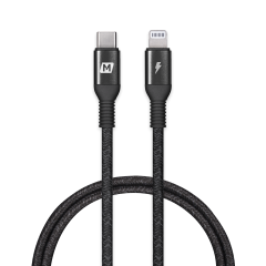 Momax Elite Link Lightning to USB-C Cable (1.2M-Black)
