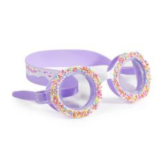 "Bling2O - Swim Goggles - Do ""Nuts"" 4 U - Grape Jelly DNT20116"
