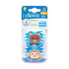 Dr Brown's - PreVent Pacifier 2s - Stage 2 DR-PV22015