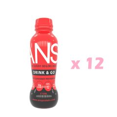 Drink_Go_Ber ANS 即飲蛋白(莓子口味) x 12瓶
