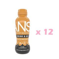 Drink_Go_Cho ANS 即飲蛋白(朱古力口味) x 12瓶