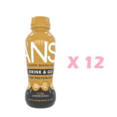 Drink_Go_Cof ANS 即飲蛋白(咖啡口味) x 12瓶