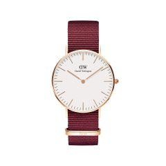 DW Classic Roselyn Watch RG White 36mm DW00100280