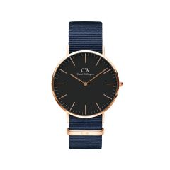DW Classic Bayswater Watch RG Black 40mm DW00100292