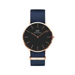 DW Classic Bayswater Watch RG Black 40mm DW00100292