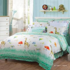AIRLAND - Kids Tencl&Linen&Cotton Bedding set 4pcs --DW162 DW162H3SET