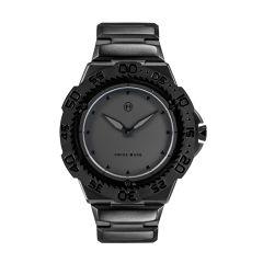 NOVE Trident Swiss Made Quartz Diver Watch for Men (Black E002-02) E002-02