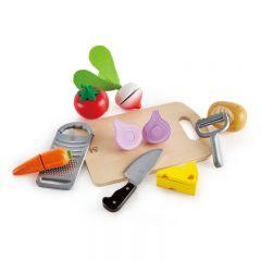 Hape 廚房玩具—蔬果切刨工具 E3154B