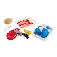 Hape 廚房玩具—肉食營養聯盟 E3155B