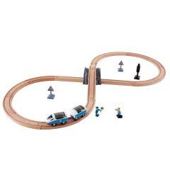 Hape 火車軌道經典8字套 E3729