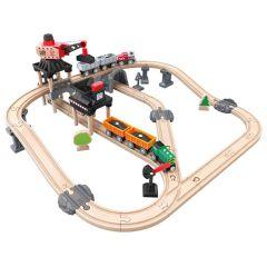 Hape 火車軌道採礦運載套 E3756