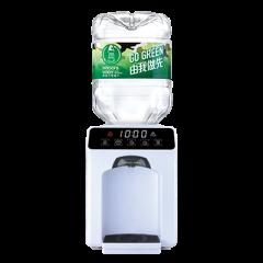 屈臣氏蒸餾水 - 家居水機 - Wats-Touch Mini 溫熱水機 (白) + 8公升樽裝蒸餾水 x 48樽(電子水券)