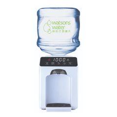 屈臣氏蒸餾水 - Wats-Touch Mini 溫熱水機 (白) +12公升家庭裝蒸餾水(電子水券) EA034071W40J