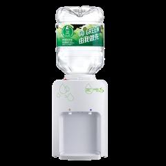 屈臣氏蒸餾水 - 家居水機 - Wats-MiniS 座檯式溫熱水機 (白) + 8公升樽裝蒸餾水 x 4樽(電子水券)