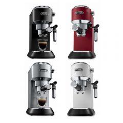 De'Longhi - Dedica Style Series Pump-Driven Espresso Coffee Machine EC685 (Red / Metallic / Black / White) EC685_all