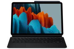 Samsung Galaxy Tab S7 書本式鍵盤保護套 黑色