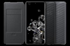 Samsung Galaxy S20 Ultra LED 皮革翻頁式皮套