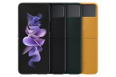 Samsung Galaxy Z Flip3 5G 真皮背蓋