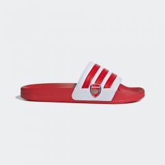 adidas -  Adilette Shower 阿仙奴拖鞋紅色/白色 EG1212