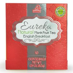 EUREKA - Natural Monk Fruit English Breakfast Tea EK121
