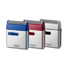 Panasonic - Battery Operated Shaver (ES-RS10) (Blue / Red / Silver) ES-RS10_S