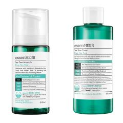 ESH-104_ESH-105 Essenherb - Tea Tree Toner 200ml + Tea Tree Ampoule 50ml