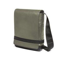 Moleskine - CLASSIC LEATHER BAG REPORTER BAG - GREEN ET74URBK6